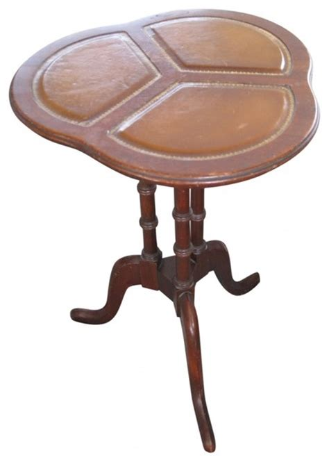leather accent table faux leather accent table eclectic side tables and end tables new york by second shout out