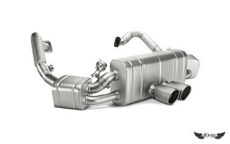 Slenser Akrapofic Titan For All Motor sistema de escape en titanio slip on akrapovic para
