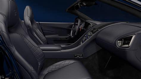 aston martin cars interior 2018 aston martin vanquish s volante tom brady signature