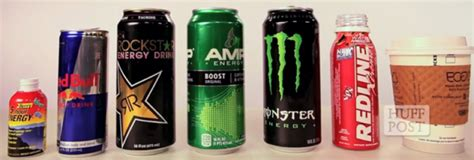 energy drink list what s really the jolt in your energy drink