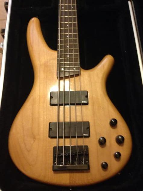 Gitar Bass Sdgr 5 String 10 beautiful ibanez soundgear sdgr sr405 5 string bass guitar with a hardshell reverb