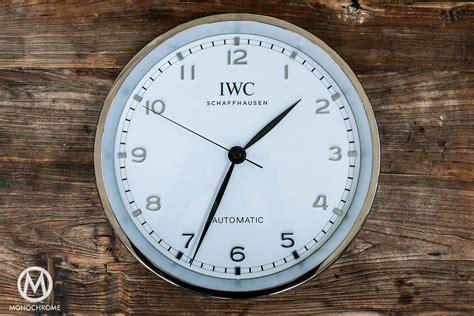 wall watch give away iwc wall clock monochrome watches