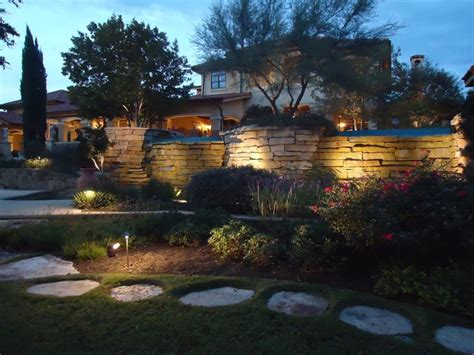 Landscape Lighting Texas Mediterranean Landscape Landscape Lighting Tx