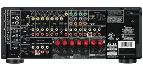 vsx txh  channel av receiver featuring advanced