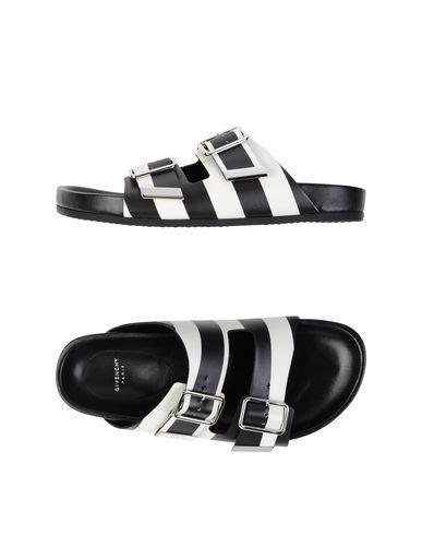 Sandal Abel Black Sandals Slip On Loafer Sandals Pria givenchy striped leather slide sandals black white
