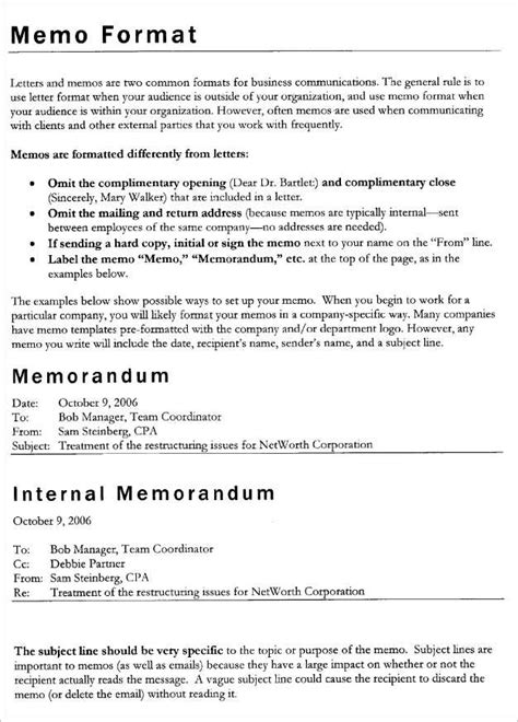 memo to staff template business memo template free for staff or