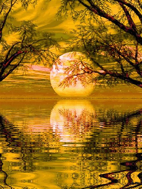 imagenes de paisajes rocosos goodnight sleep animation reflection water good night