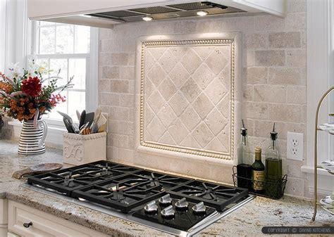Travertine Tile Kitchen Backsplash Antiqued 4x4 Ivory Travertine Backsplash Tile Cabinet Countertop From Backsplash Kitchens