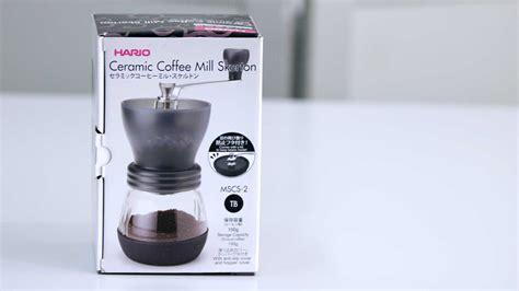 Termurah Hario Ceramic Coffee Mill Skerton Grinder Kopi Manual Mscs hario ceramic coffee mill skerton cikopi