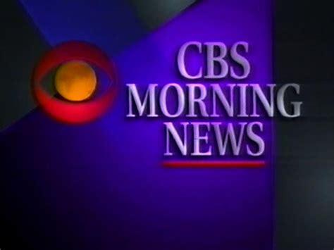 Morning News by Cbs Morning News Logopedia Fandom Powered By Wikia