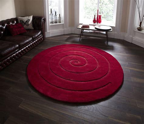 large circle rug spiral tufted 100 wool circular rug modern textured large floor mat ebay