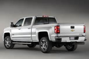 2015 chevrolet silverado high country hd rear side view