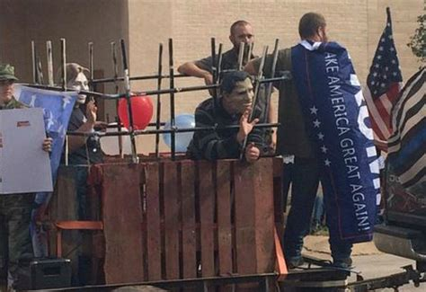 Texas Parade Features Hillary Obama Together In Prison Parade Float Depicts Obama In Toilet Democratic