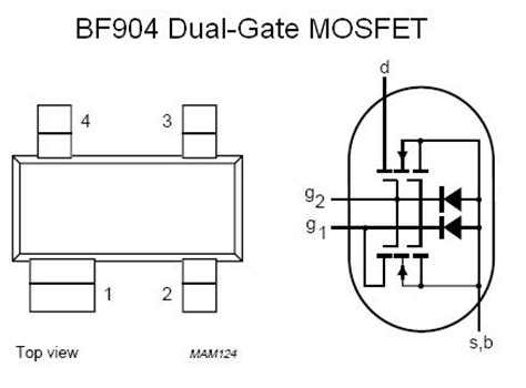 fet transistor gate smt fet bf904 n channel dual gate fet nightfire electronics llc