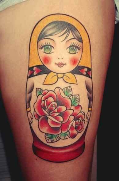 small russian doll tattoo 25 best ideas about doll on russian