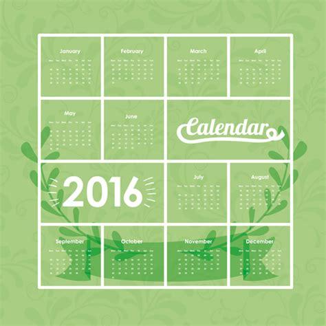 design wall calendar 2016 simple wall calendar 2016 design vectors set 13 vector