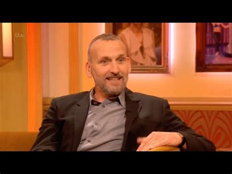 christopher russell interview christopher eccleston interview russell tovey paul o