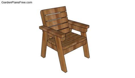 outdoor chair plans  garden plans   build
