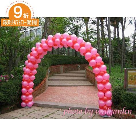 Wedding Lever Arch by Wedding Props Arranged Balloon Arches Demolition Wheel