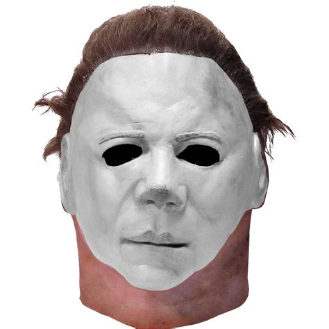 mike myers halloween face latex michael myers halloween ii mask party city