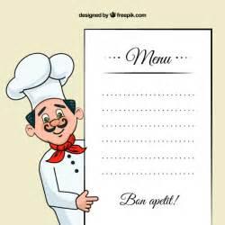 chef de cuisine illustration avec un mod 232 le de menu