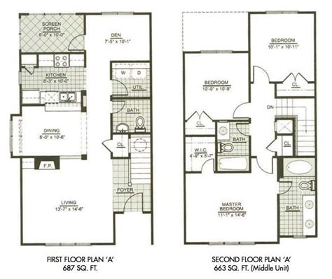 3 Bedroom House Blueprints best 25 two story houses ideas on pinterest two story