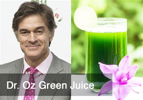 Dr Oz Giveaways - dr oz green juice