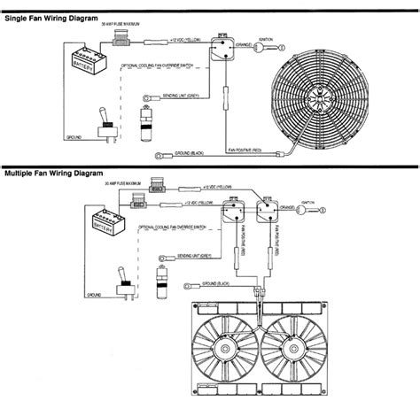 spal fan wiring diagram wiring diagram and schematic
