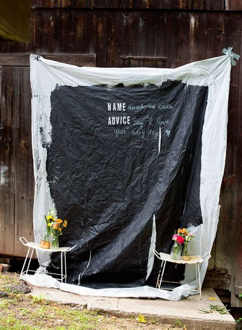 diy chalkboard photo booth 18 diys for the best new years photo booth