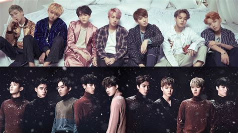 exo bts wallpaper bts to cover track by 8eight and exo to perform