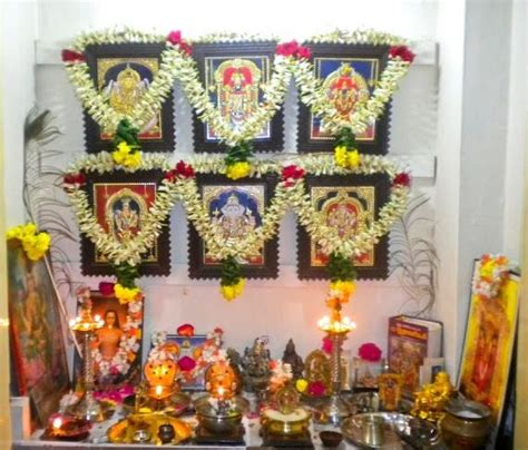 pooja room designs  decorations  small indian homes