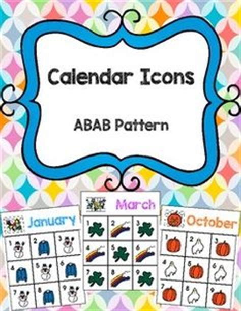Classroom Calendar Feature Days Of The Week Great For The Without Boardmaker