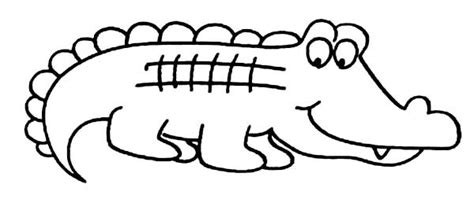 coloring cartoon alligator coloring pictures to pin on