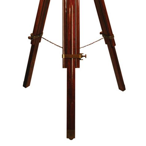 tripod floor l wooden legs ledbury brown wooden tripod floor l cream shade
