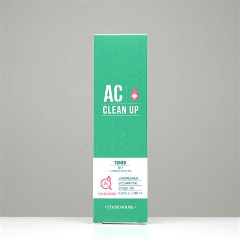 Toner Etude House etude house ac clean up toner review