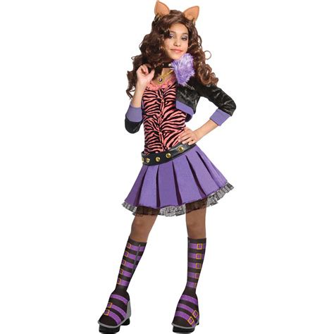 Dress Moster Dress Black high draculaura deluxe child costume