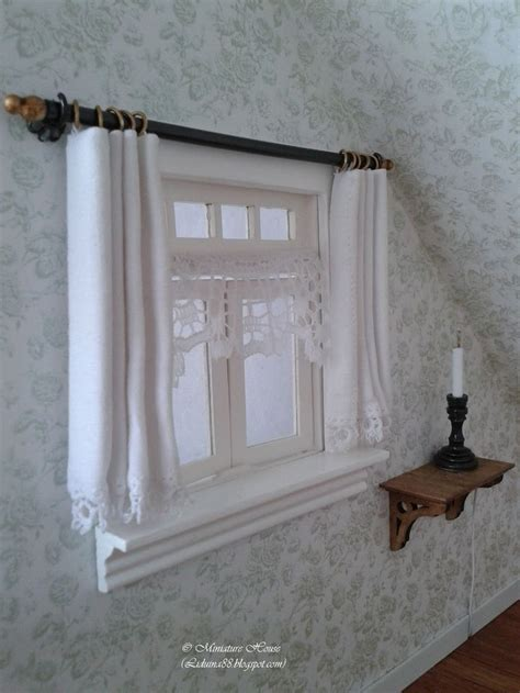 dollhouse curtain rods 25 best ideas about doll house curtains on pinterest