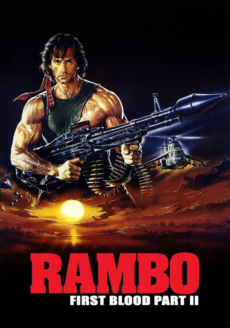 Film Rambo Part 2 | rambo first blood part ii movie fanart fanart tv