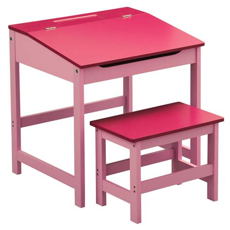 Childrens Mdf Kids School Writing Drawing Colouring Homework Desk