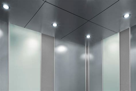 Elevator Lighting Fixtures Cabforms 2000 N Elevator Interiors Allied Metal