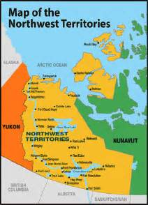 map of northwest territory canada maps of canada provinces political and territories