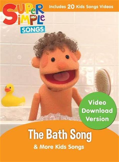 bathroom songs products super simple online