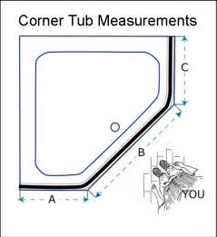 corner bathtub dimensions quotes