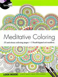 anti stress coloring book barnes and noble meditative coloring 50 anti stress coloring pages 5