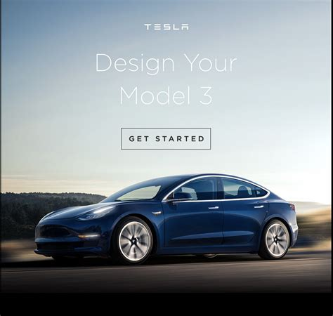 Tesla Configurator Tesla Model 3 Configurator Goes Live For Lucky Few