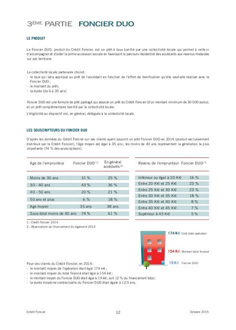 credit foncier de siege social etude credit foncier sur l accession sociale en