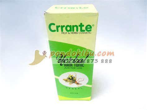 Hair Tonic Herbal crrante hair tonic herbal untuk mengatasi rambut rontok