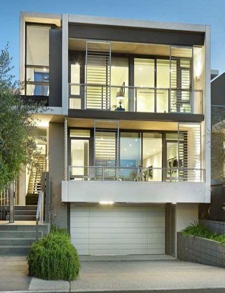 narrow modern house modern house facade narrow house architecture