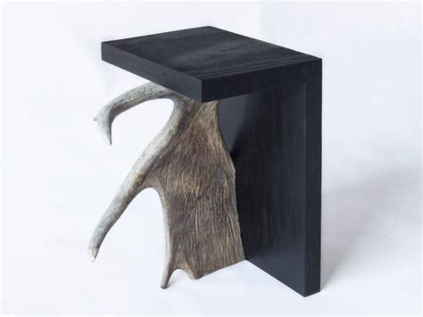 Stag Stool by Stag T Plywood And Antler Stool By Rick Owens Home Collection For Sale At 1stdibs