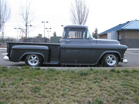1957 chevy stepside pick up 1957 chevy stepside pickup truck no reserve